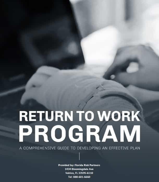 Return to Work Program Guiide